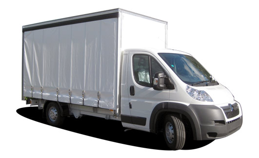 Transit / Relay / Boxer – Curtain Side Luton Box Van